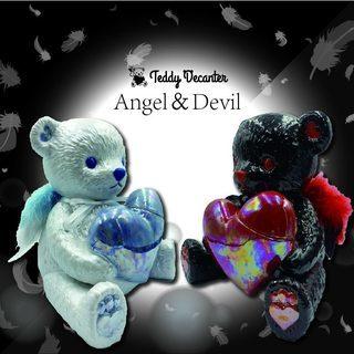 テディデキャンタ Angel&Devil 販売開始のお知らせ